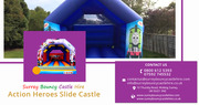 Action Heroes Bouncy Castle